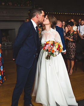 Charlotte Cross bespoke wedding dress