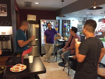 Coffice Tea Gathering Oct 2017