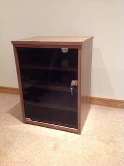Glass-Fronted Cabinet