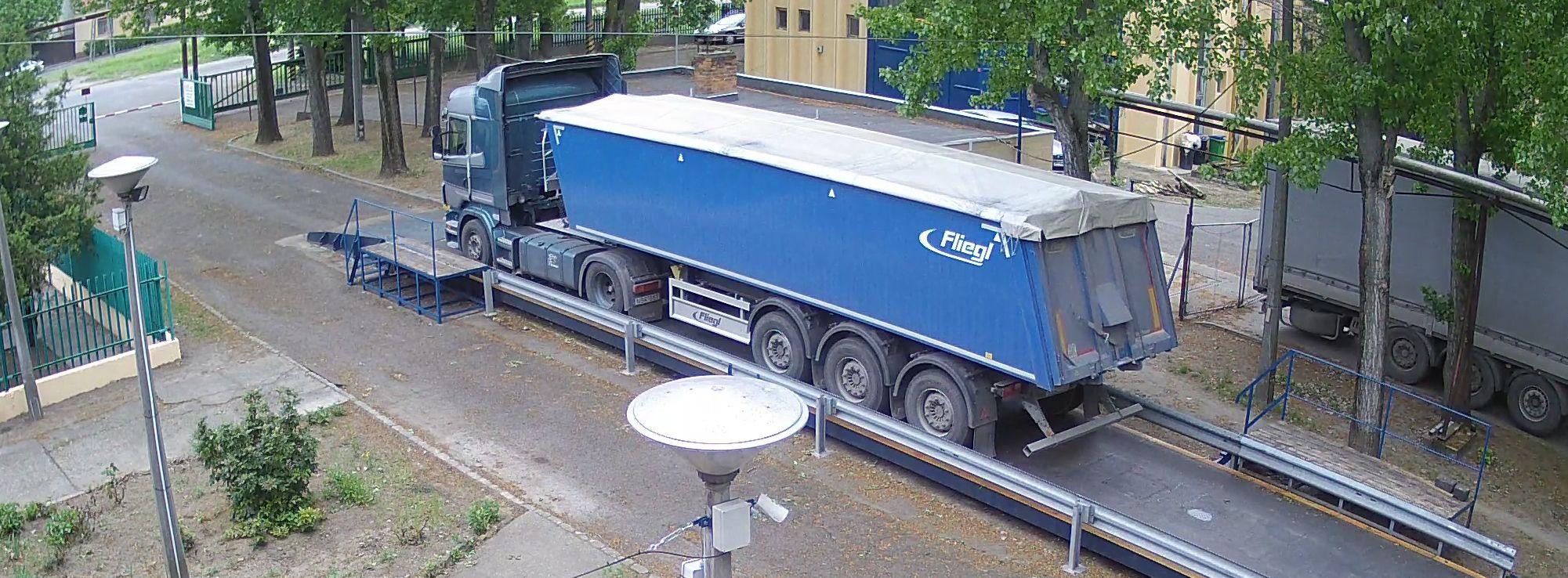 Gabonás tehergépjármű mérlegelés