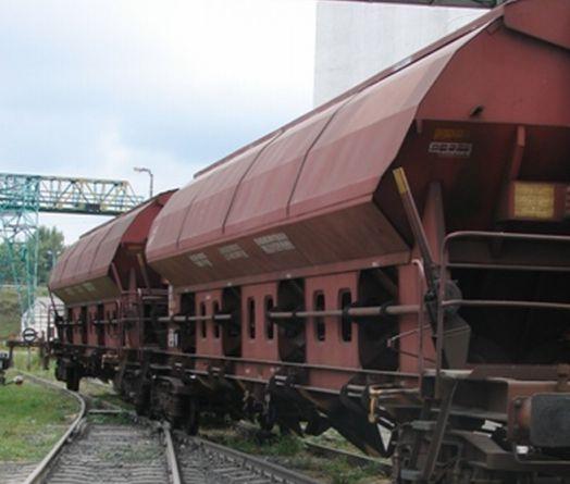 Vasúti kocsi rakodása