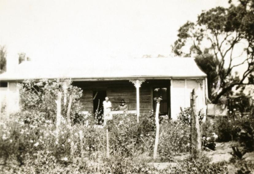 Frances and James Spiers at Martin Hole Homestead