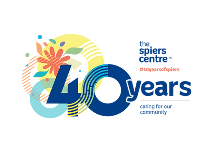 The Spiers Centre 40 year anniversary logo.png