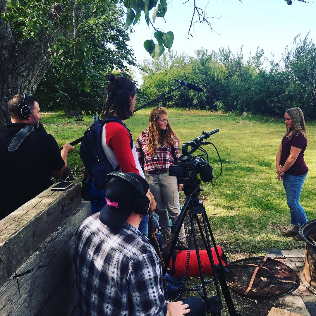 On Set w/ SPARK Film Camp