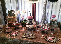 30th Birthday Dessert Table