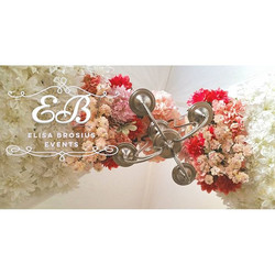 Floral Ceiling by EB Events