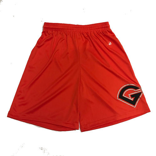 GRIT BASEBALL LOGO SHORTS