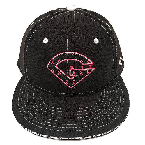 GRIT LOGO HAT - PINK