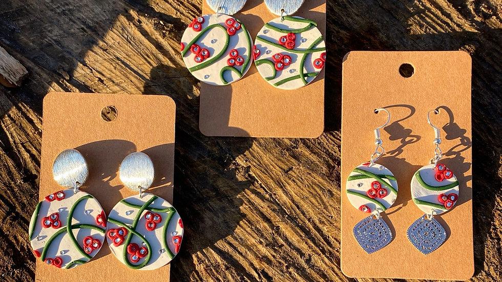 Boucles d'oreilles collection Noël