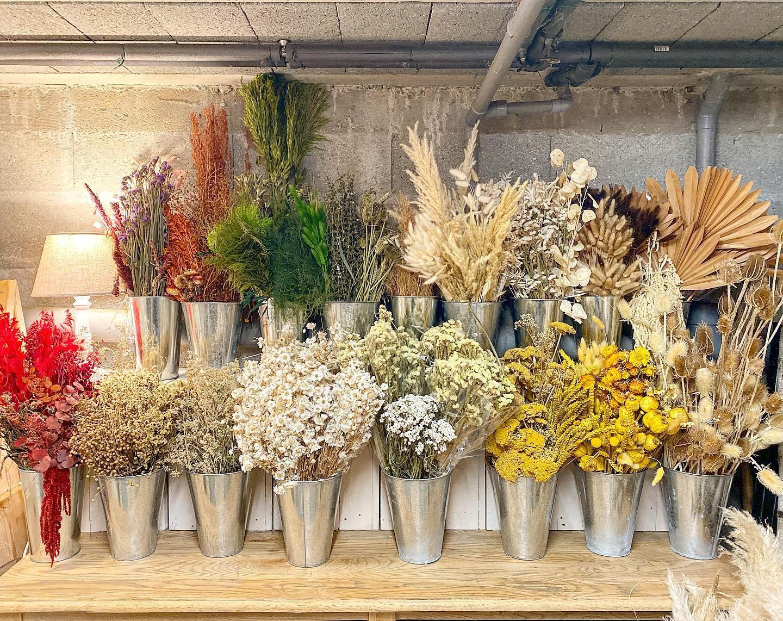 Atelier créations en fleurs séchées
