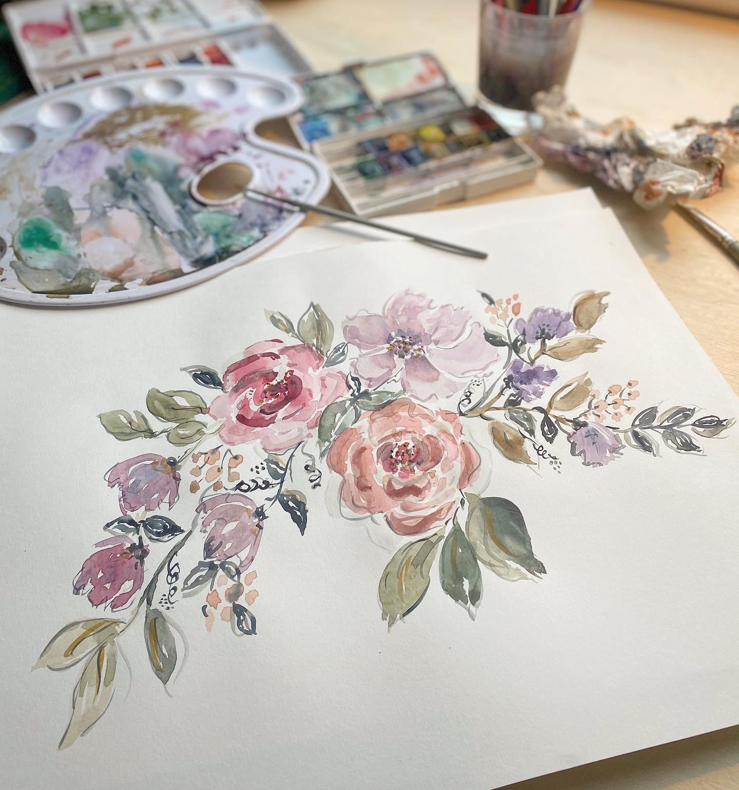 Atelier Aquarelle -Techniques créatives