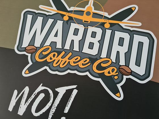 Warbird Coffee A3 Poster
