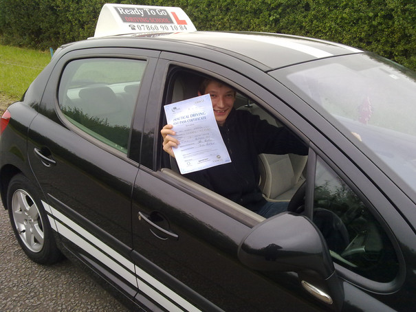 passed with ready to go driving school b