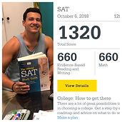 Ben SAT Score