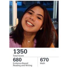 Melissa: SAS Student after our December 2020 SAT Program