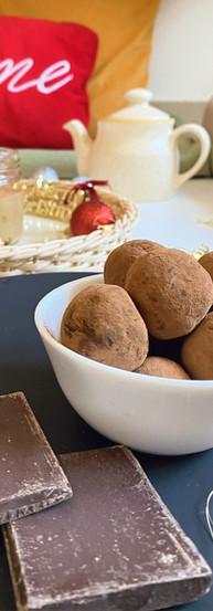 Artisanal Dark Chocolate Truffles