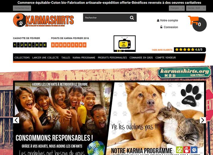 Karmashirts avis client