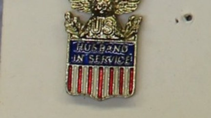 Family member in Service pin
