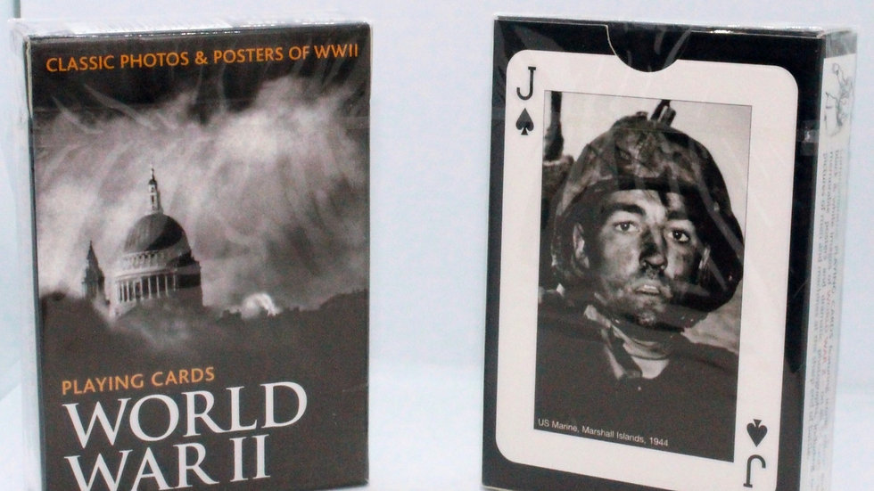 WWII Playing Cards