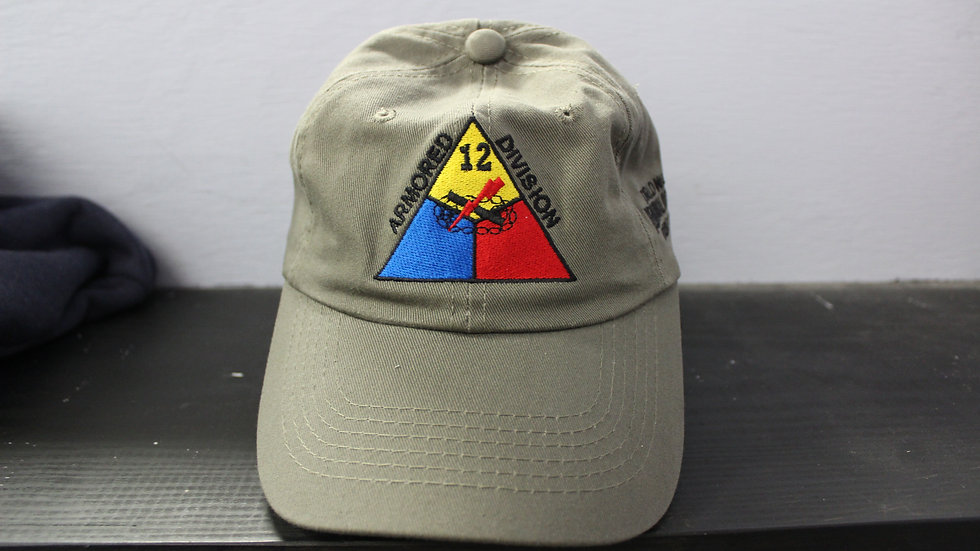 12th Armored Division Baseball Cap