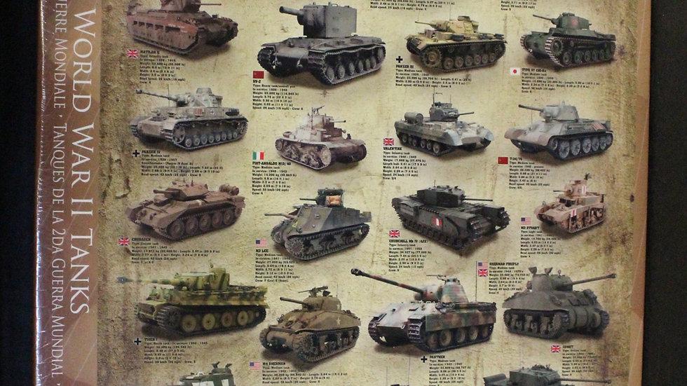 WWII Tank 1000 Piece Puzzle