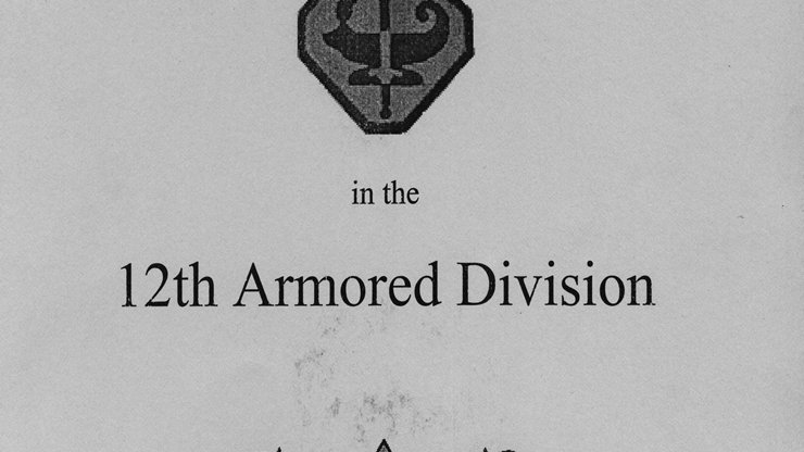 ASTP in the 12th Armored Division