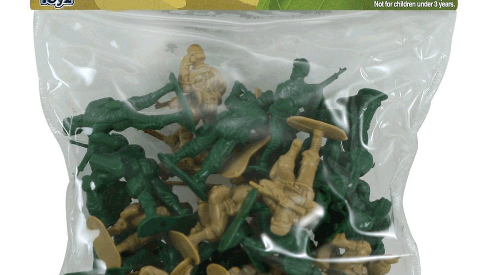 Bagged Toy Soldiers