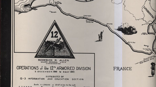12th Armored Division History Book Vol. II
