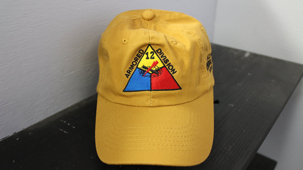 12th Armored Division Baseball Cap
