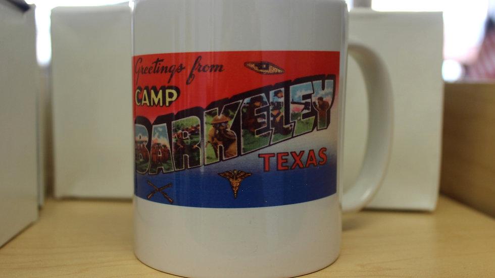 Greetings from Camp Barkeley mug