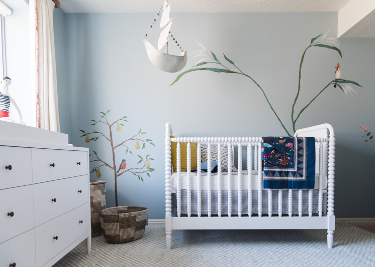 Baby Nursery Reveal, Behr and Blinds.com-7452