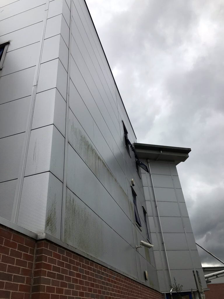 Cladding Before Clean