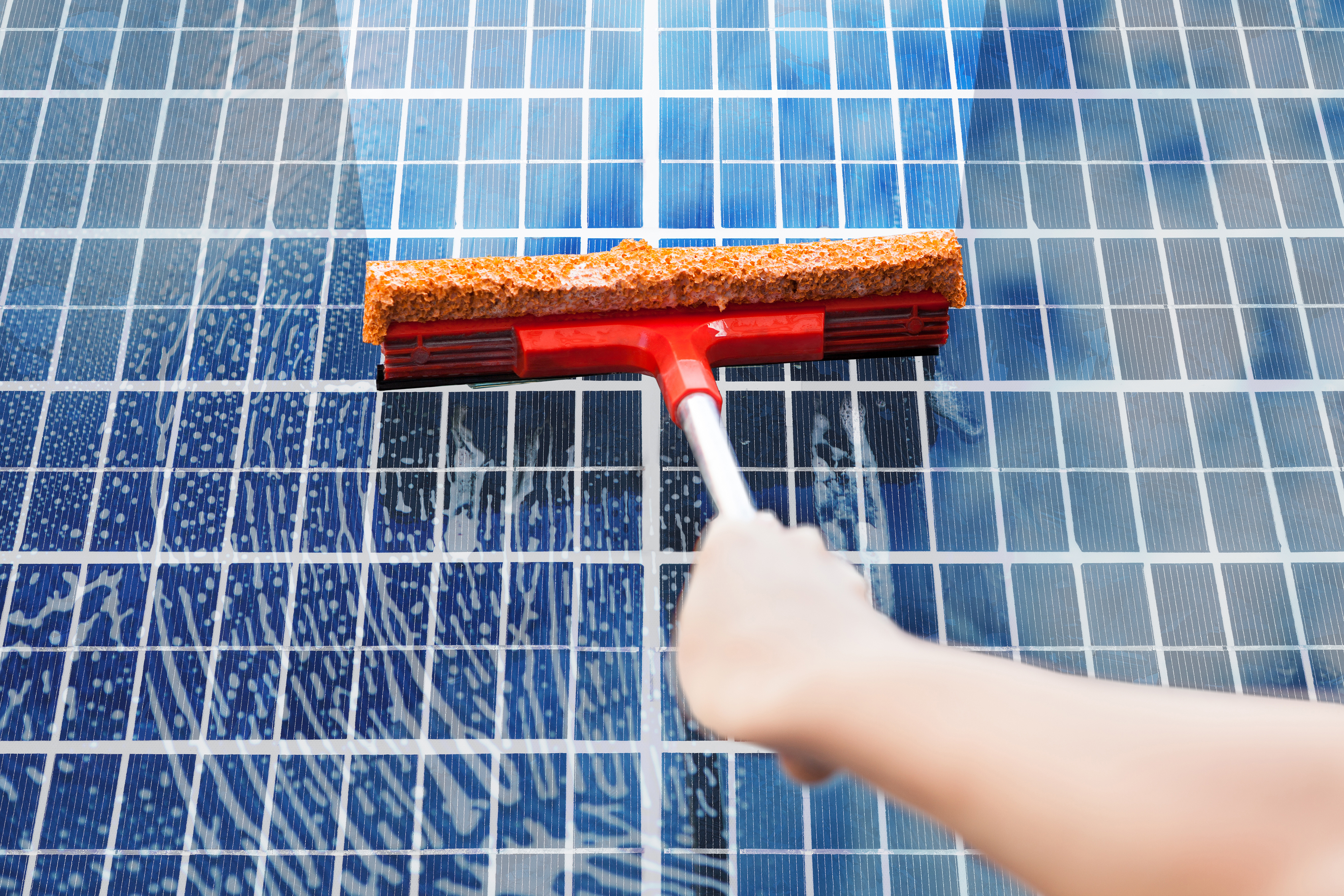 Solar Panel Squeegee