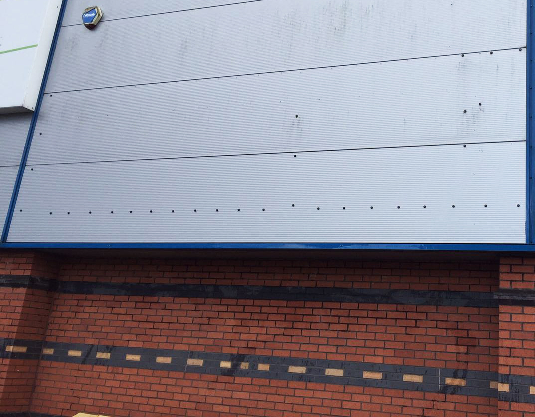 Cladding Test After Clean