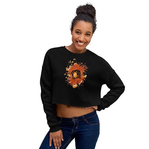 Designer Crop Sweatshirt by SKETCH