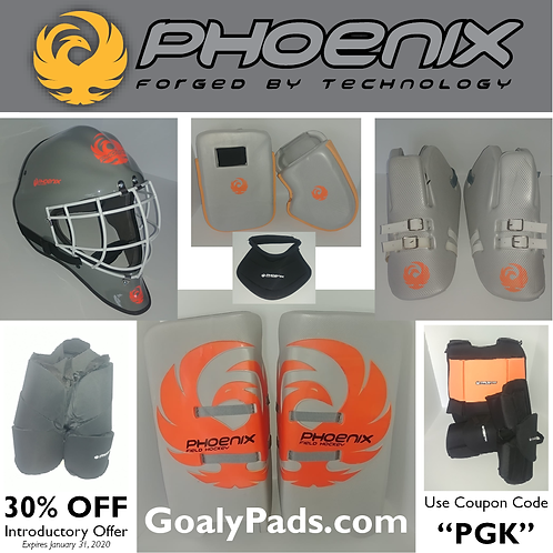 Phoenix K50 Goalkeeping Kit (includes USA Delivery)