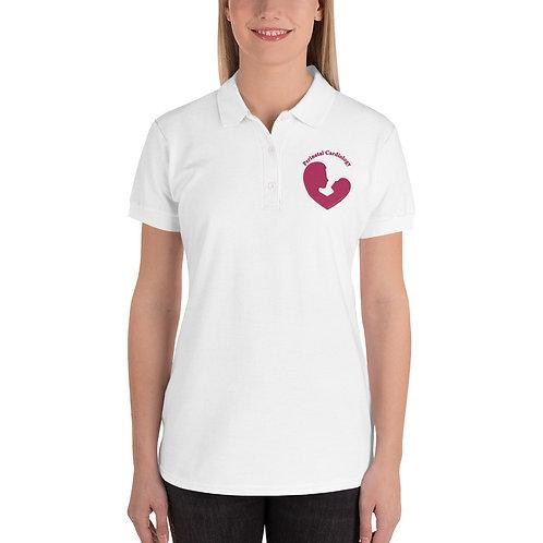 PediatricHearts.com Embroidered Women's Polo Shirt