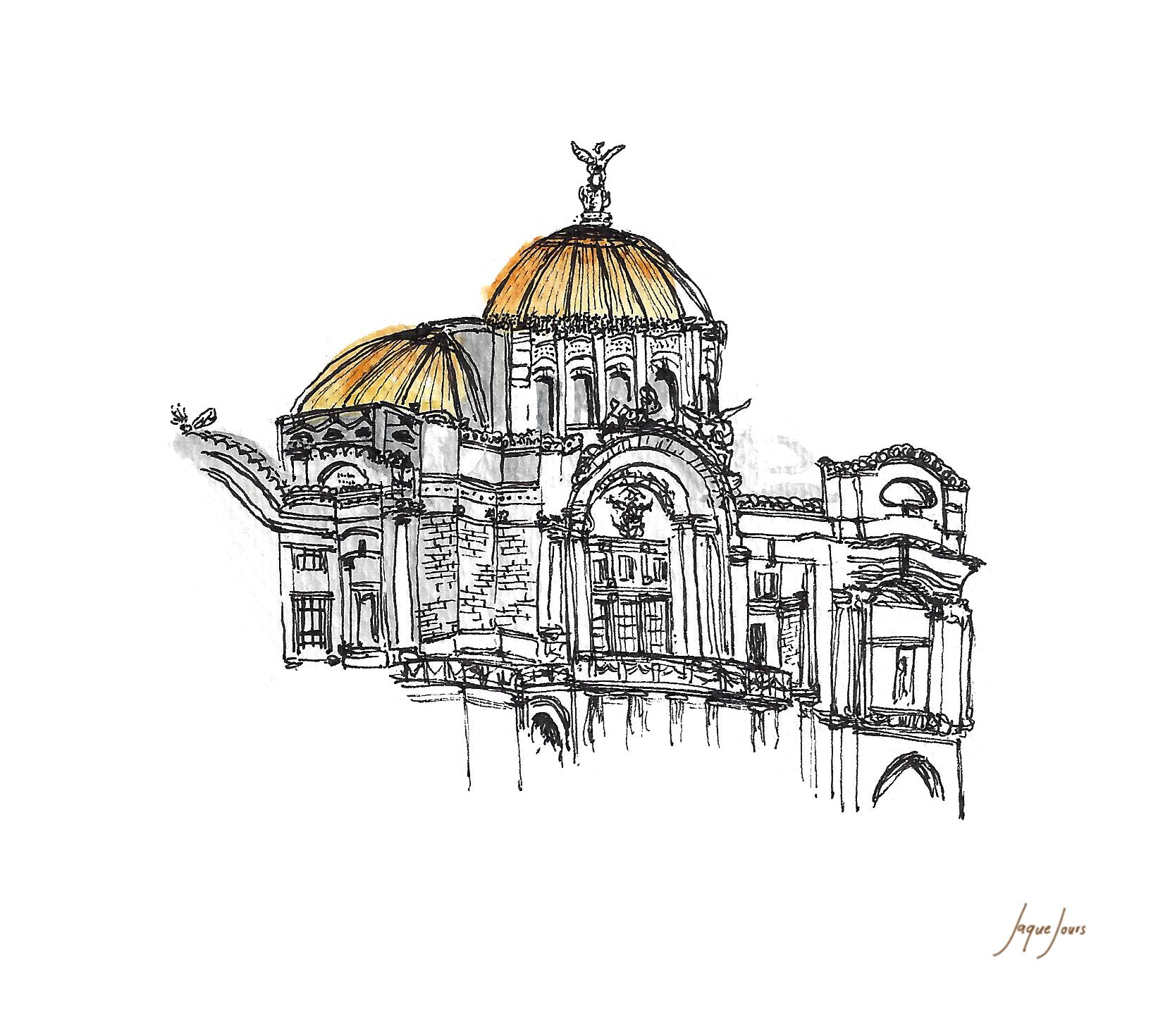 Bellas Artes, México