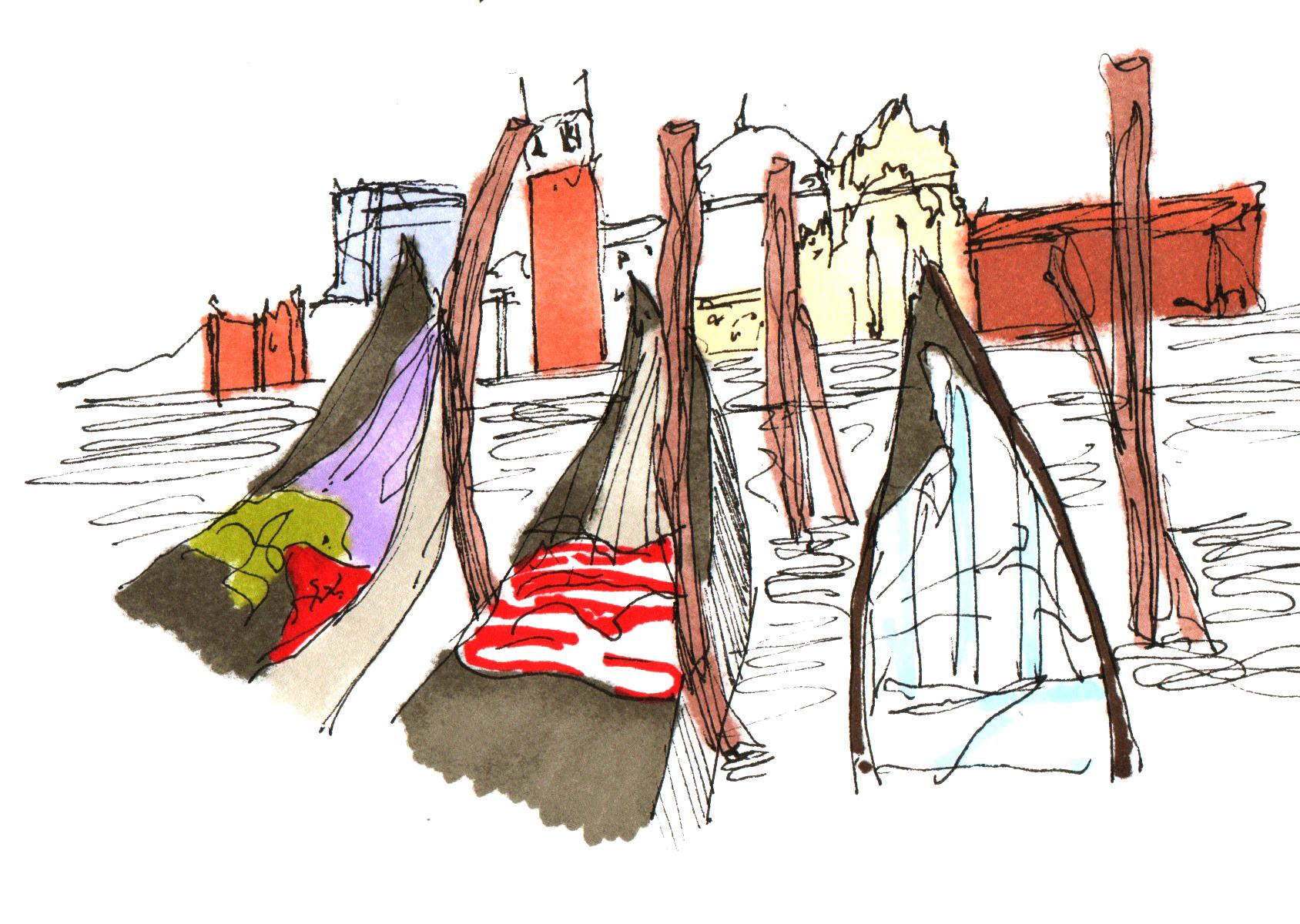 Gondolas Sketch