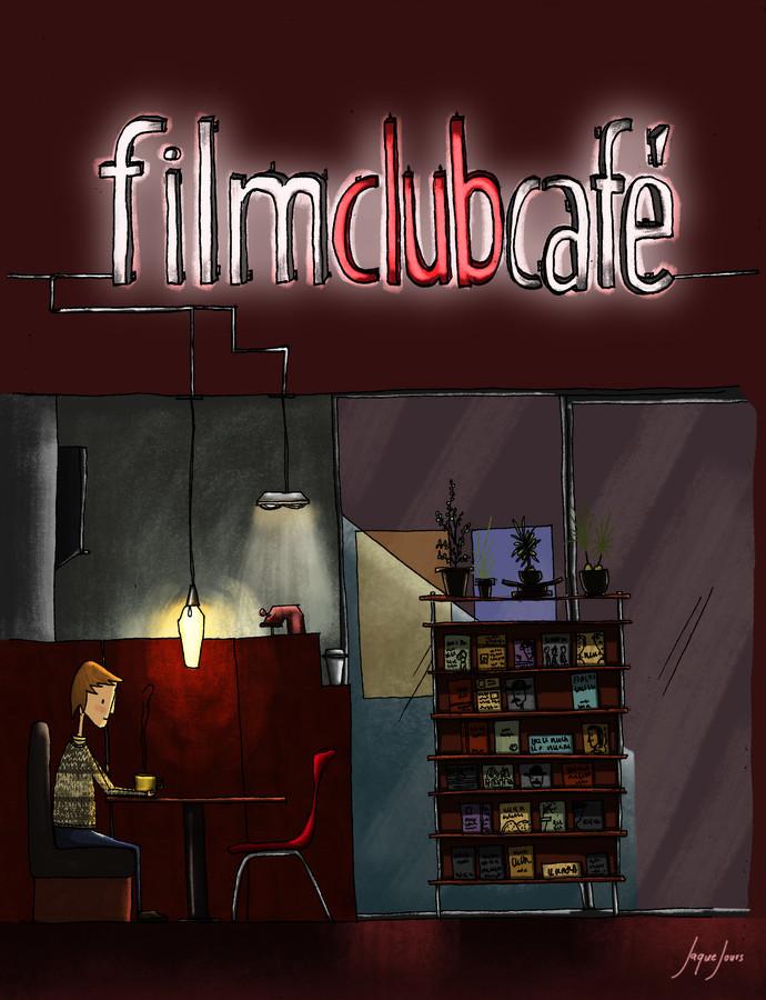 Film Club Café Poster