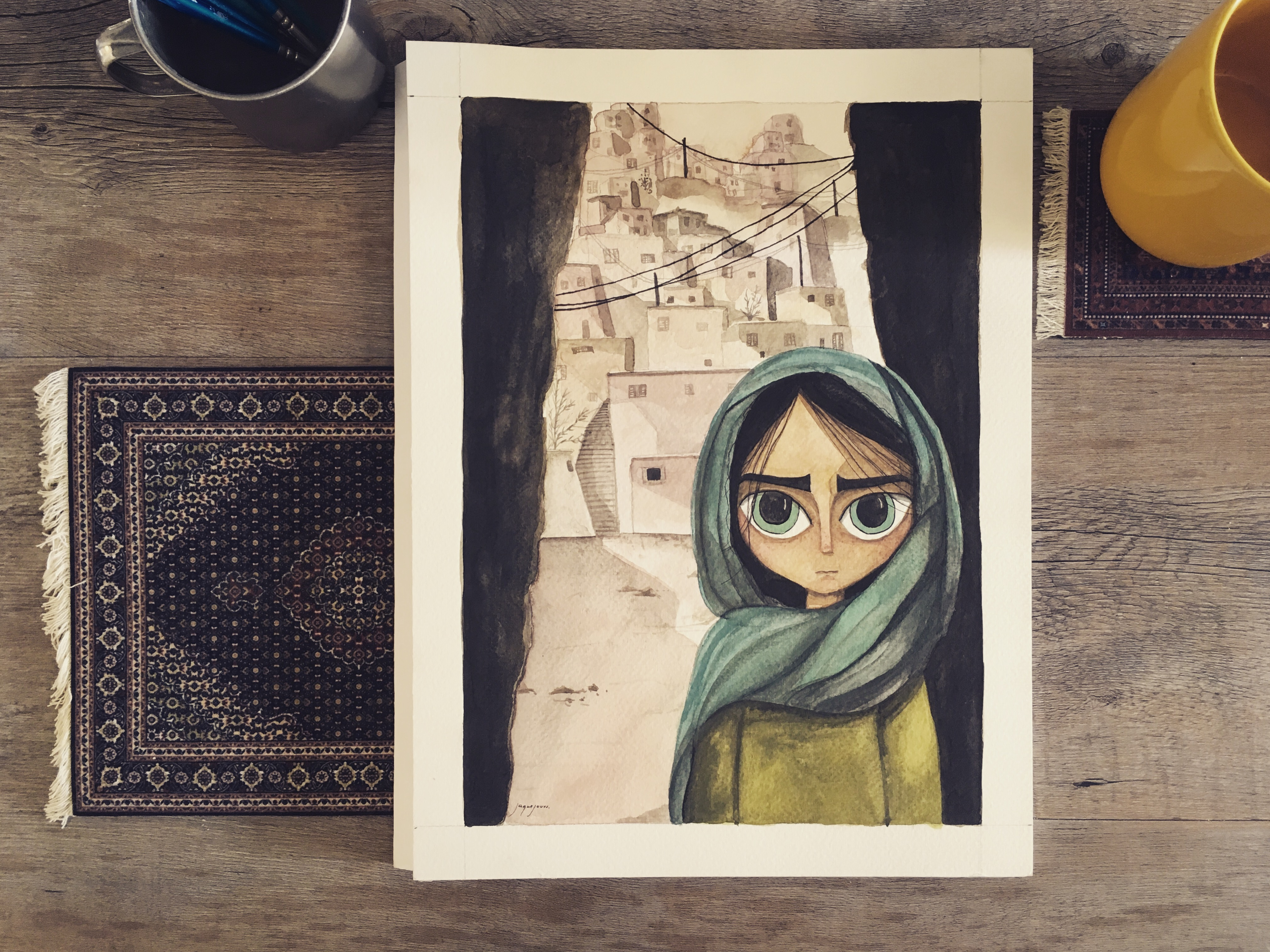 The Breadwinner Fan Art