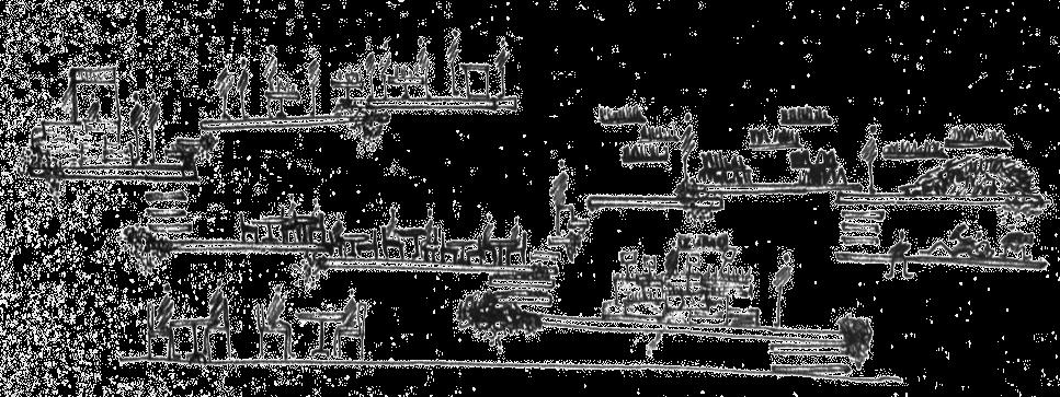 Panoramic View Sketch