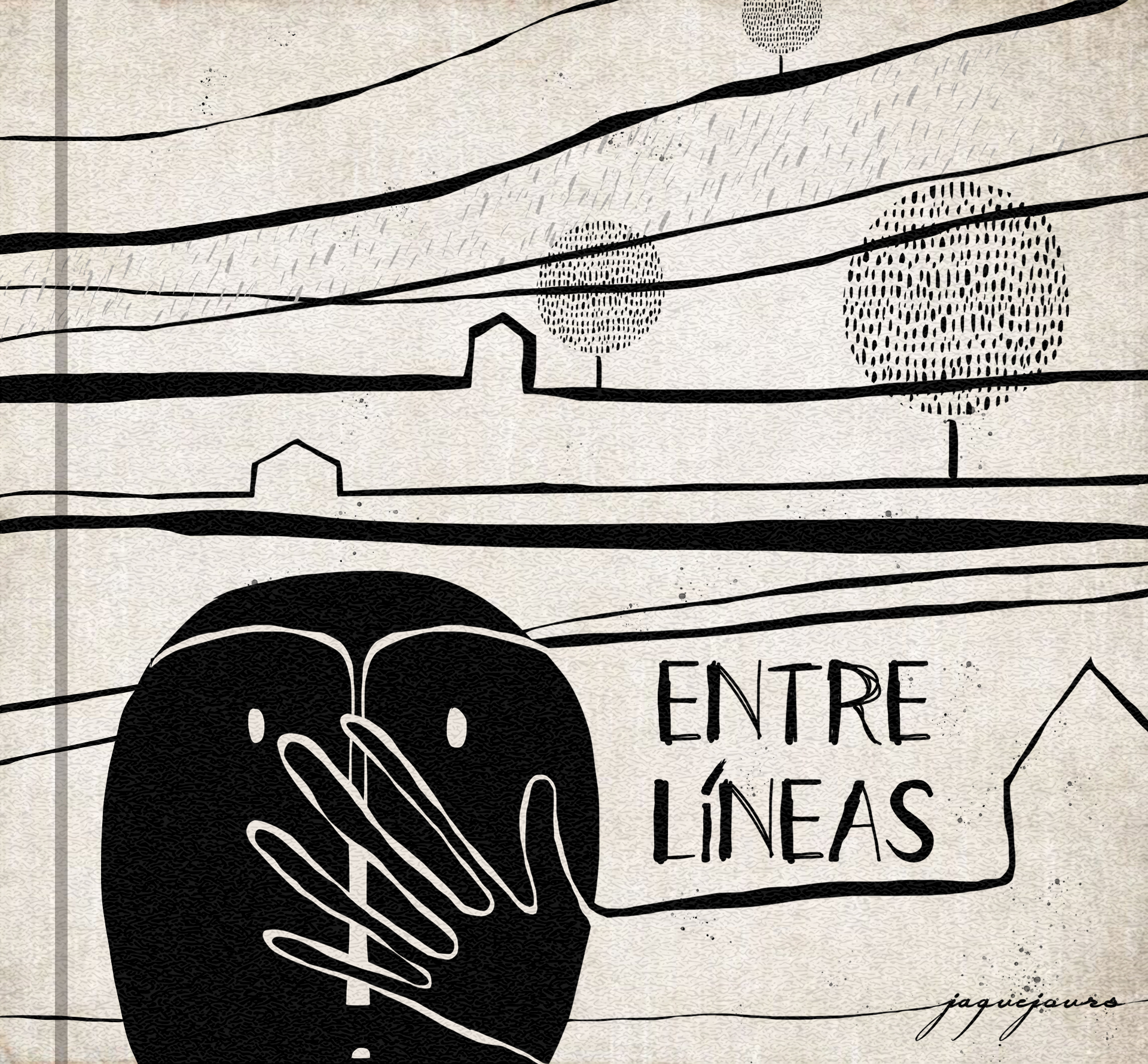 """Entre líneas"" written by Jaque Jours"