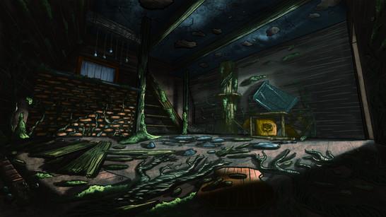 Cabin - Destroyed Interior