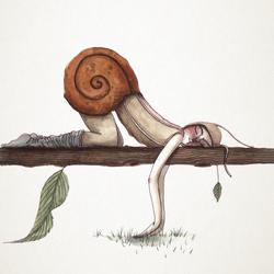 Fred, el hombre caracol