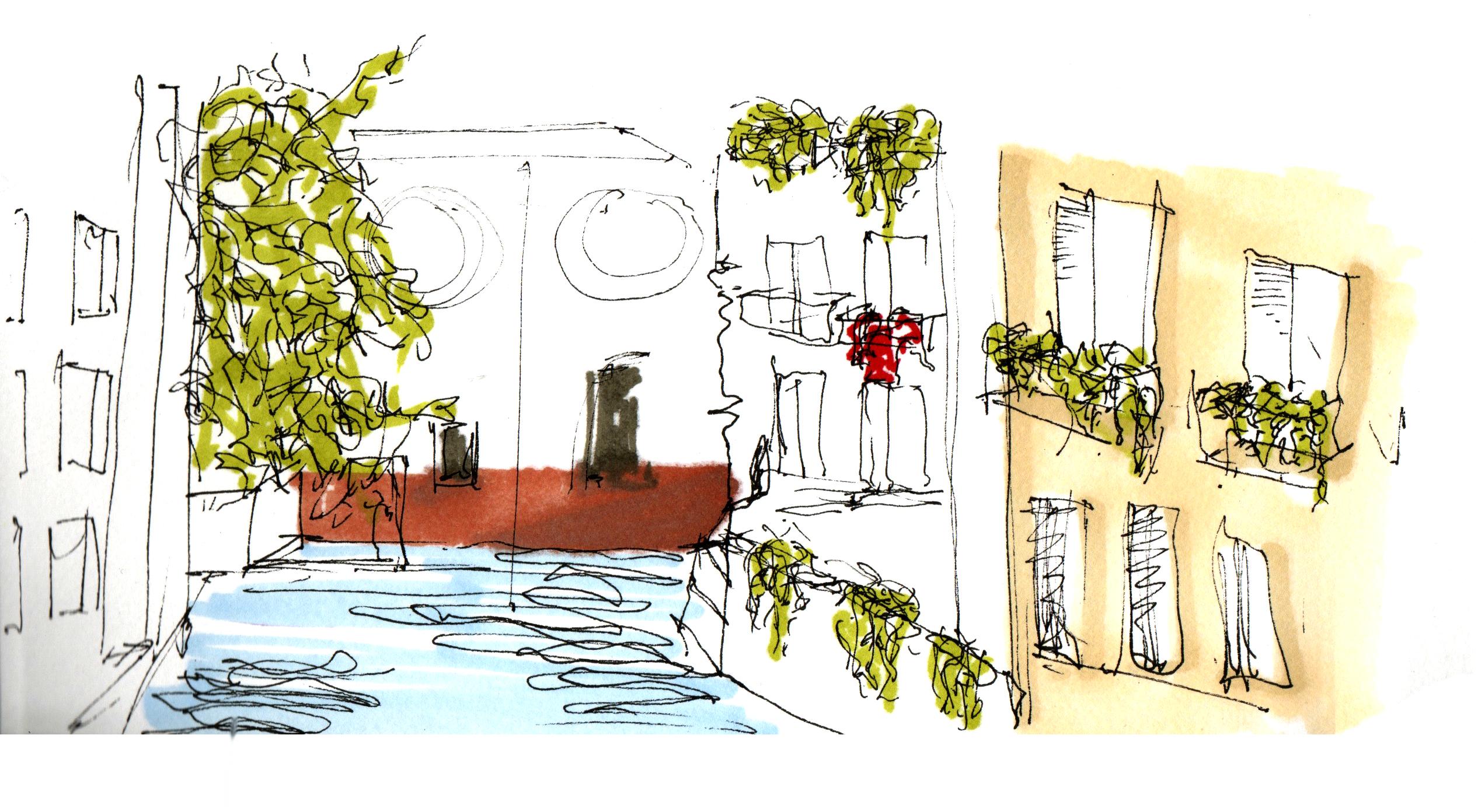 Inside Venice Sketch