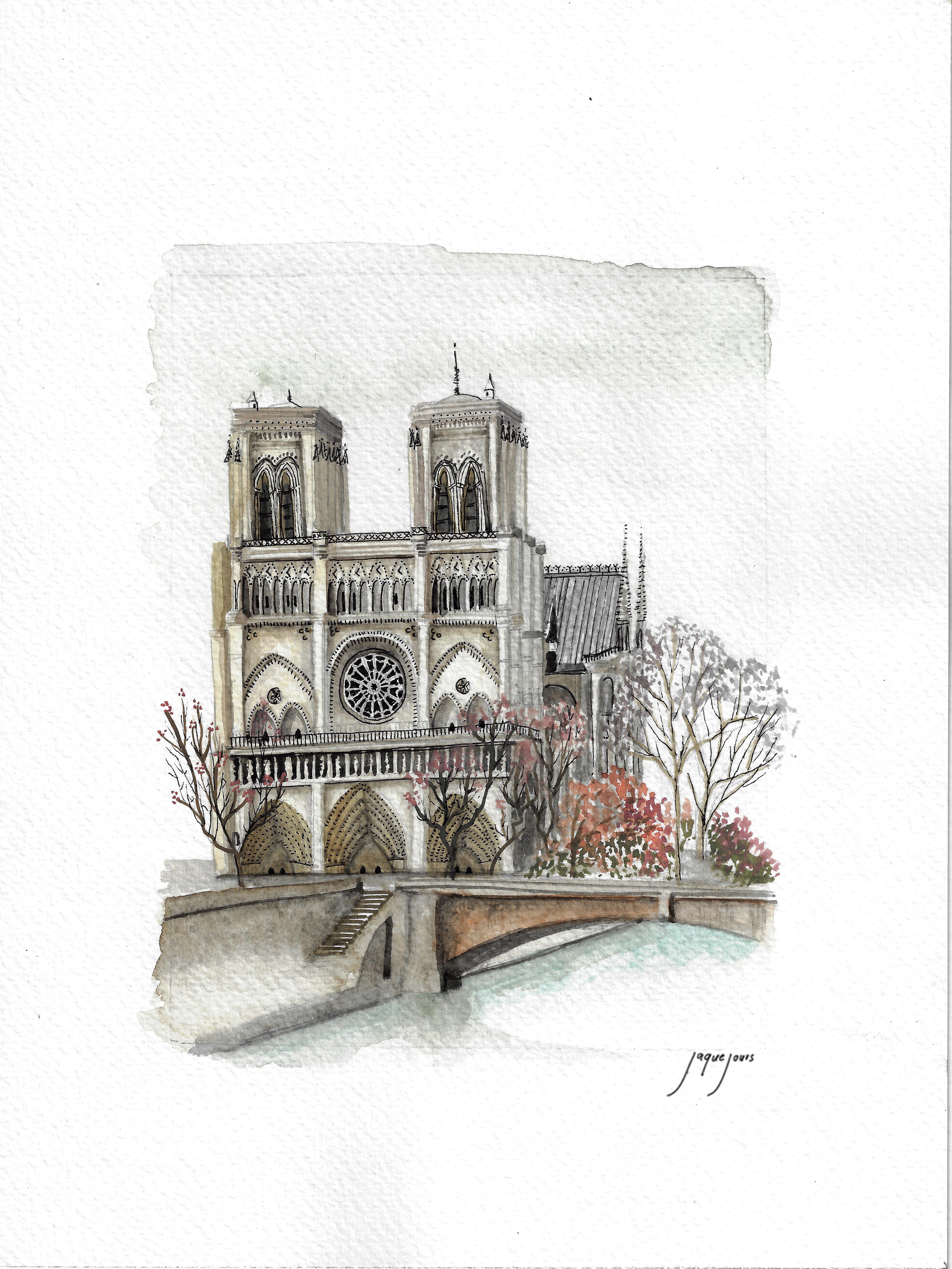 Notre Dame, París, Francia