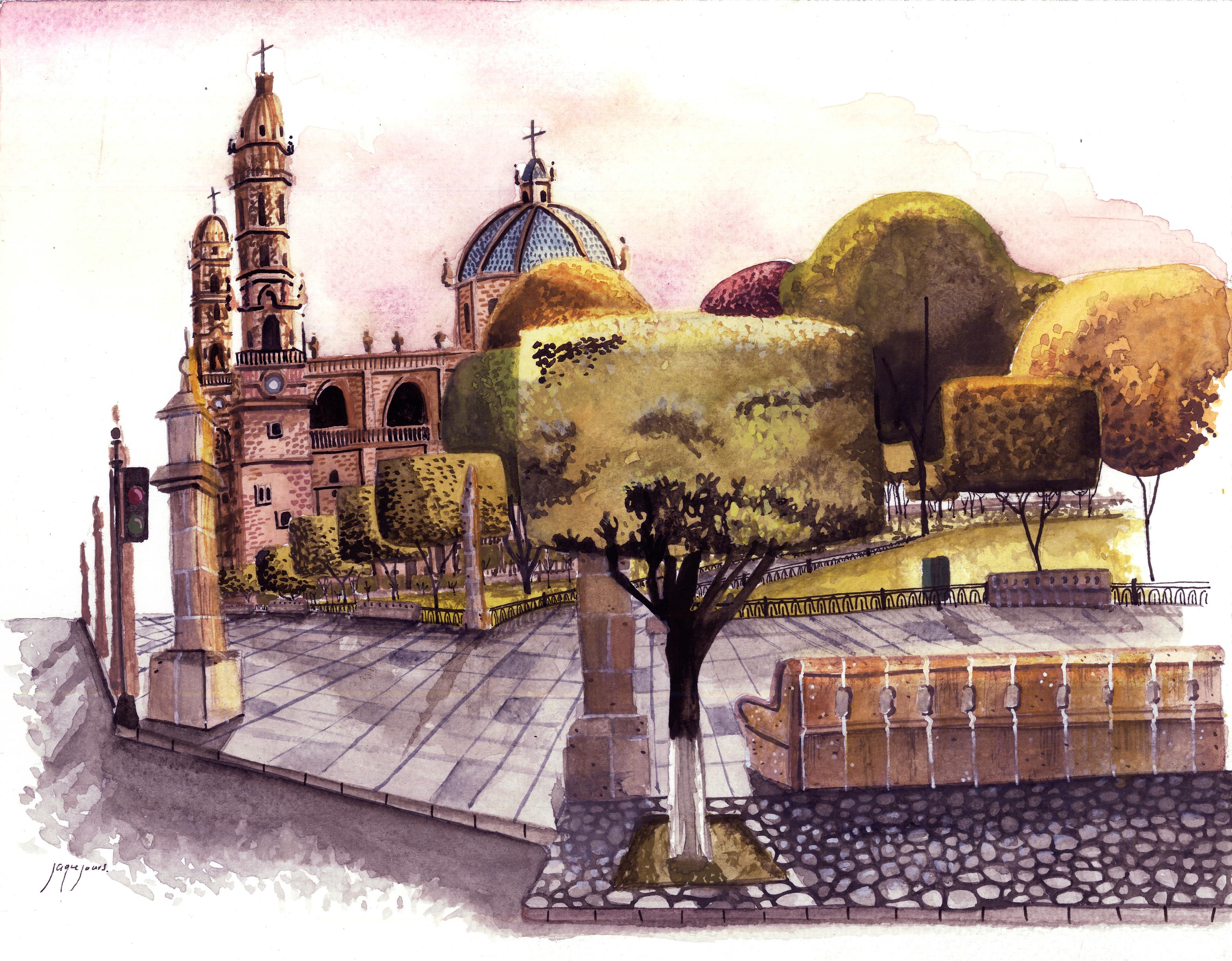 """""""La Plaza de Armas"""" Michoacán"""