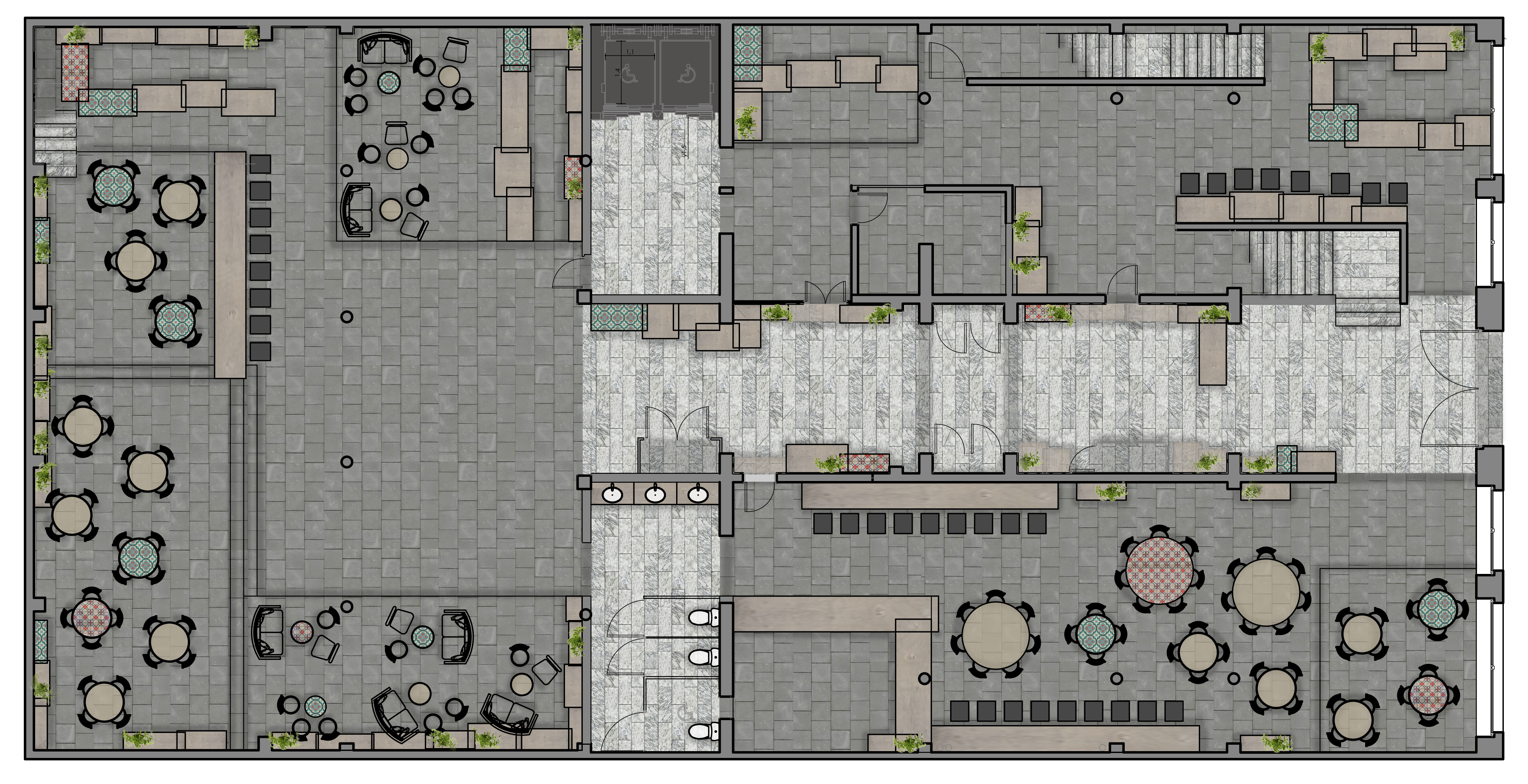 First Floor Color Plan