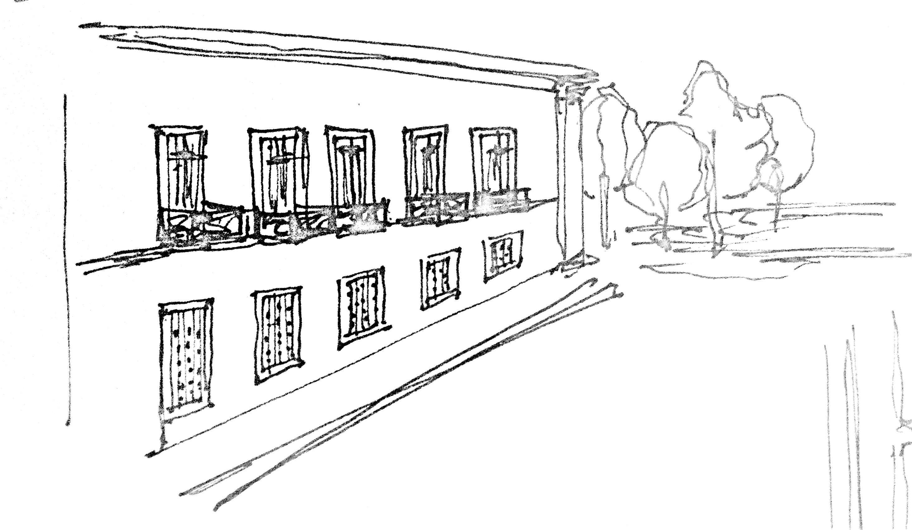 Building Facade Sketch
